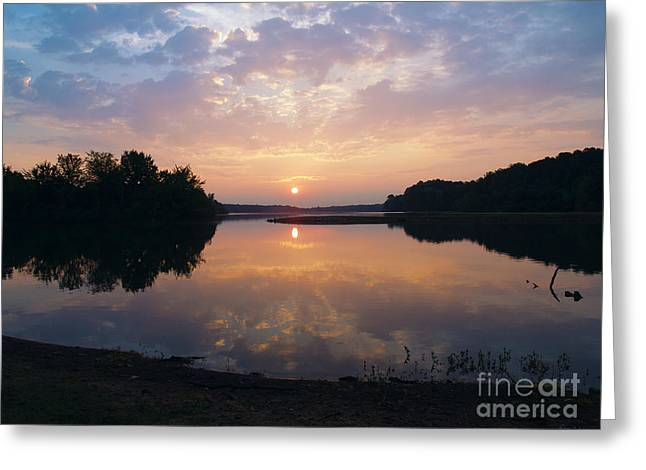 Sunrise Morning Bliss 152b Greeting Card