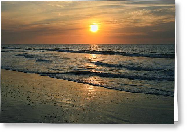 Sunrise Myrtle Beach Greeting Card