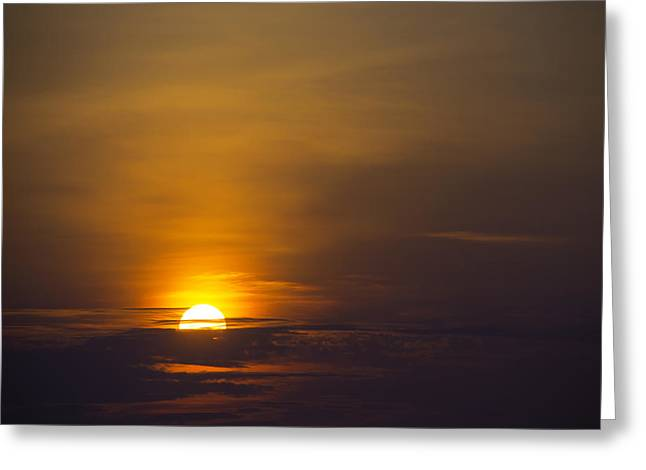 Sunrise New Orleans Greeting Card by Garry Gay