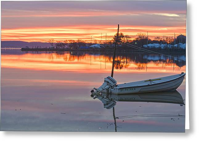 Sunrise On Christmas Day Greeting Card