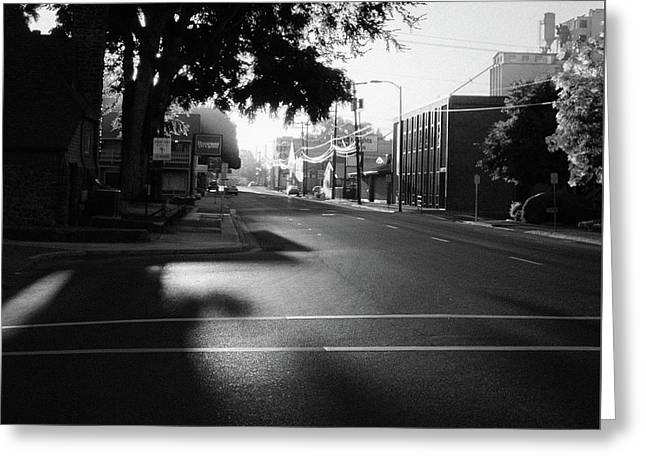 Sunrise On Dorion Avenue Greeting Card