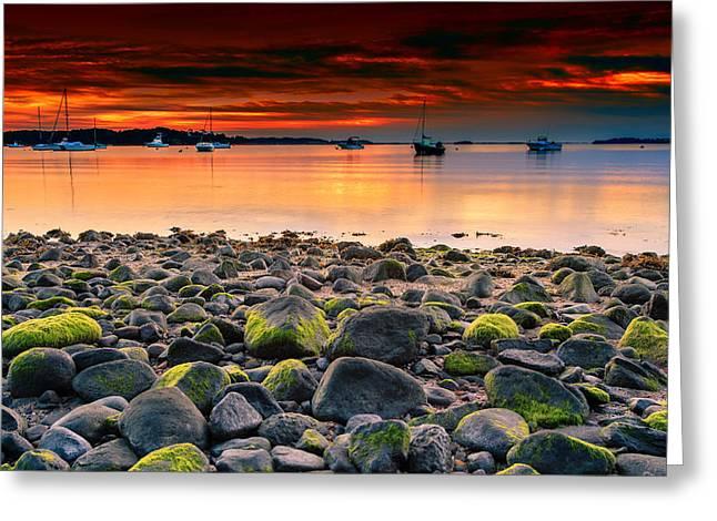 Sunrise On Pleasant Bay Greeting Card