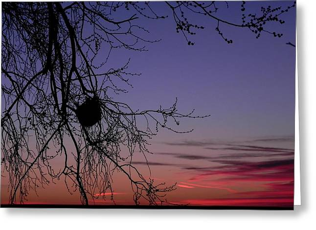 Sunrise On The Colorado Plains Greeting Card
