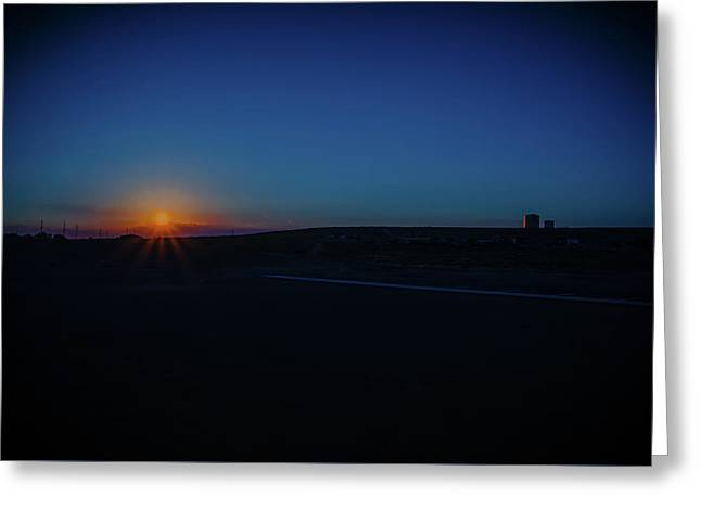 Sunrise On The Reservation Greeting Card