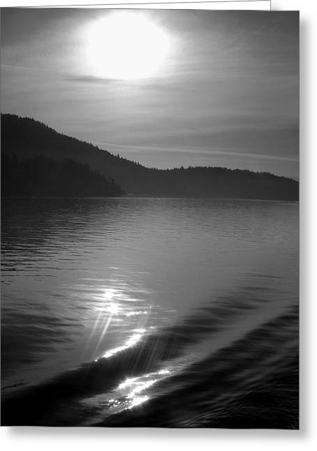Sunrise On The San Juans Greeting Card by Karla DeCamp