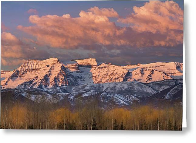 Sunrise On Timpanogos Greeting Card