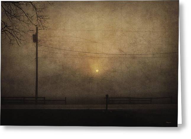 Sunrise On Wilmington Pike Greeting Card by Cynthia Lassiter