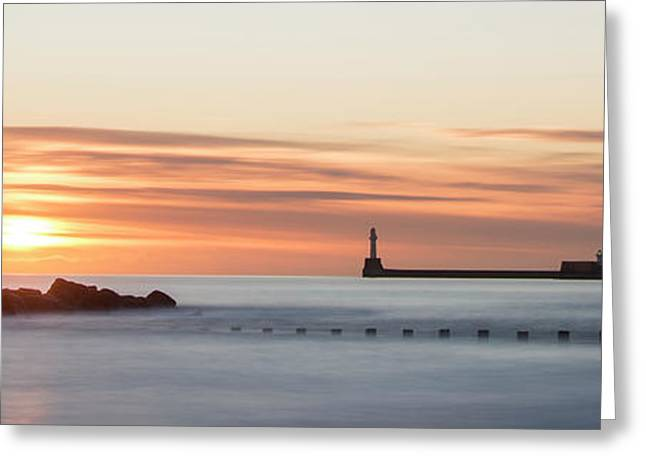 Sunrise Over Aberdeen Beach Greeting Card