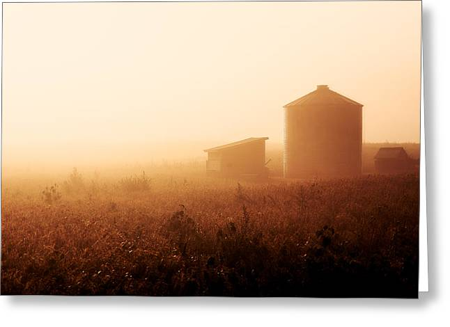 Sunrise Over Baer Bottoms Greeting Card by Todd Klassy