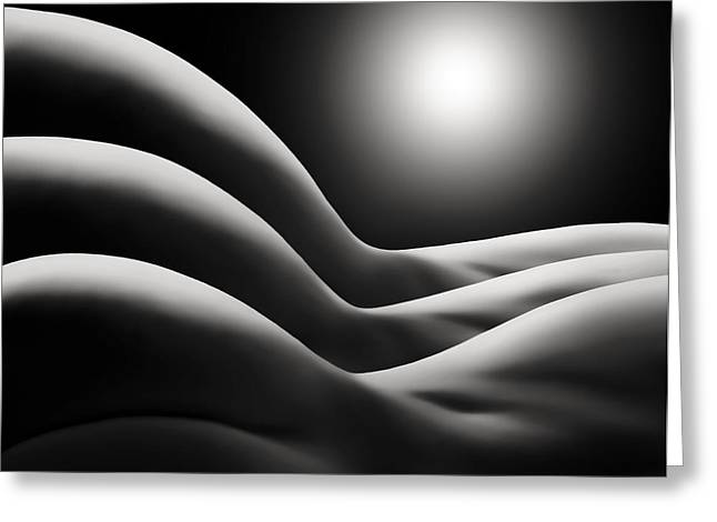 Sunrise Over Bodywaves Greeting Card by Joe Bonita