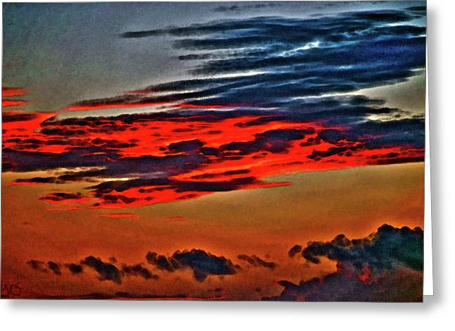 Sunrise Over Daytona Beach Greeting Card