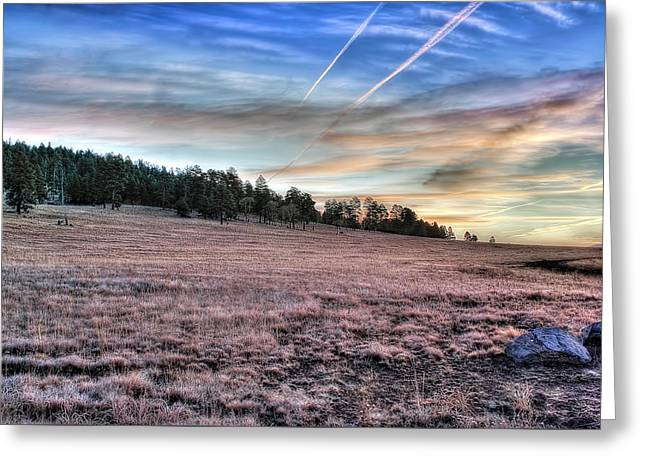 Sunrise Over Ft. Apache Greeting Card