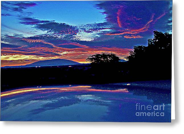 Sunrise Over Mauna Kea Greeting Card