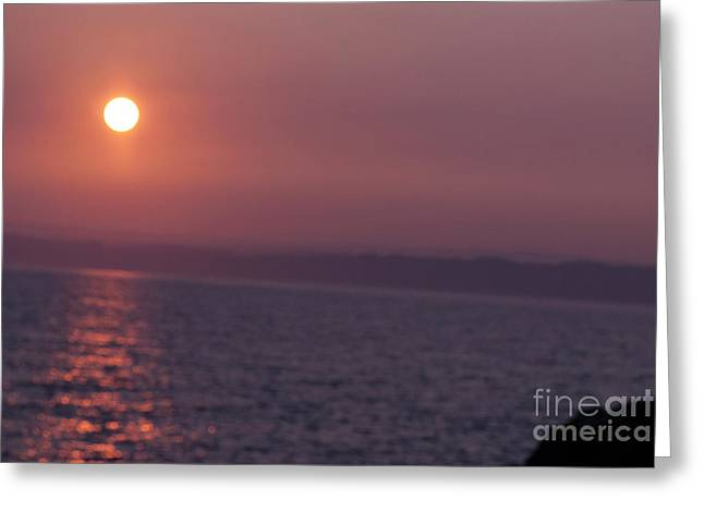 Sunrise Over St Ives Greeting Card