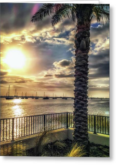 Sunrise Over The Matanzas Greeting Card