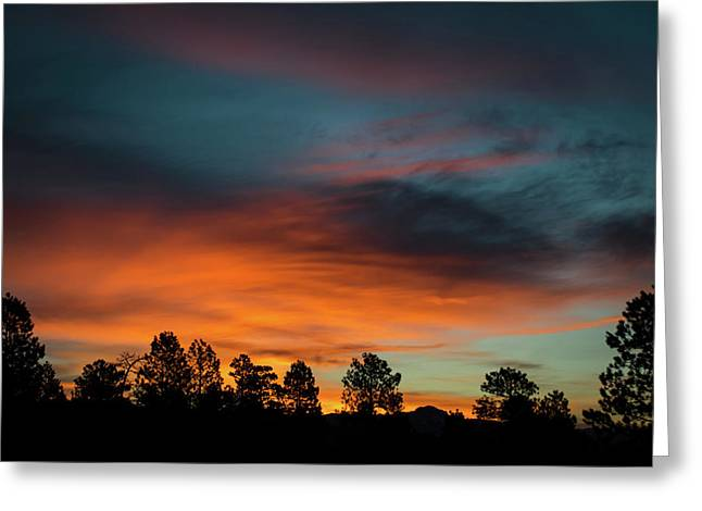 Sunrise Over The Southern San Juans Greeting Card