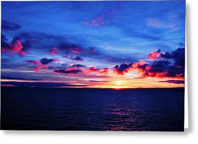 Sunrise Over Western Australia I I I Greeting Card