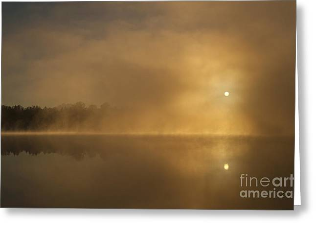 Sunrise Relections Greeting Card