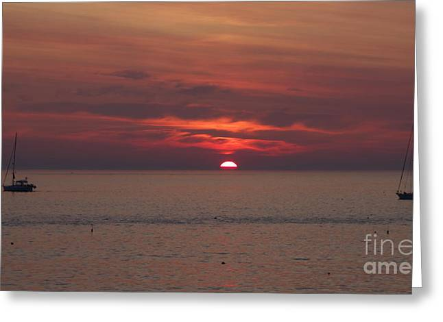 Sunrise Rockport Ma Greeting Card
