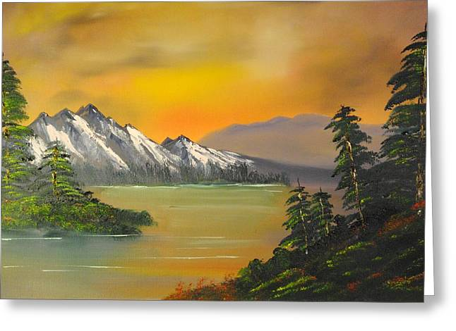 Sunrise Serenity Greeting Card by James Higgins