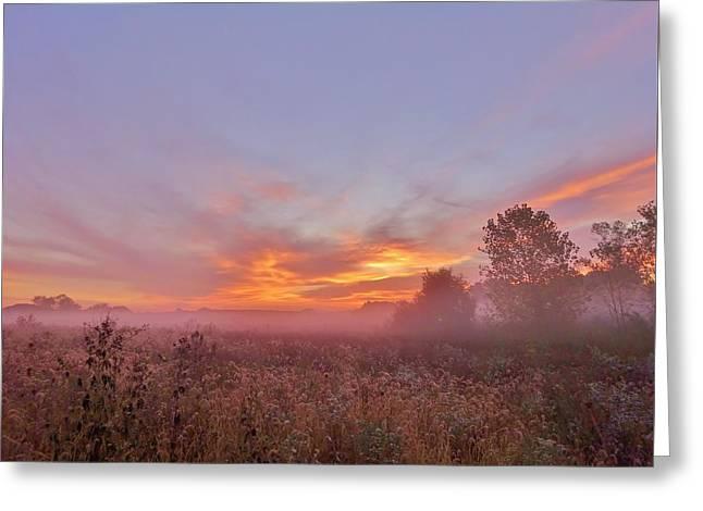 Sunrise Show Greeting Card