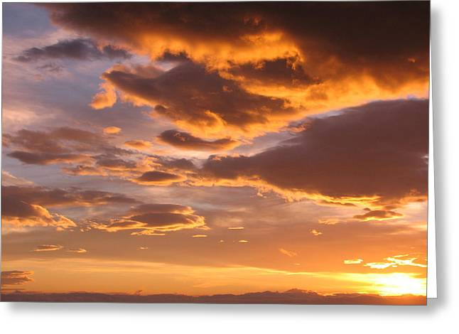 Sunrise Soon After 00 Greeting Card by Andres Zoran Ivanovic