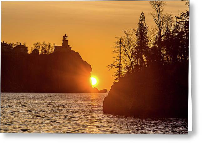 Sunrise Split Rock State Park Greeting Card