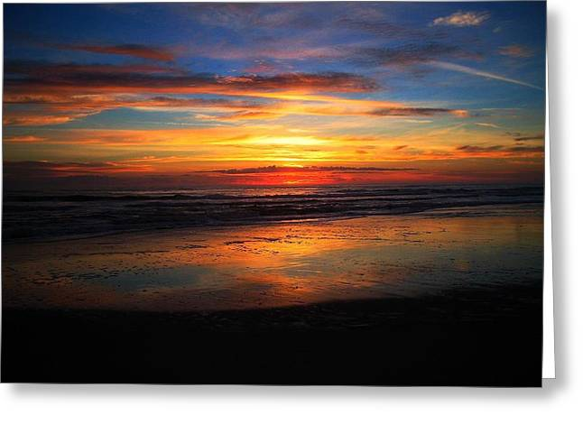 Sunrise Sunset  Full Greeting Card
