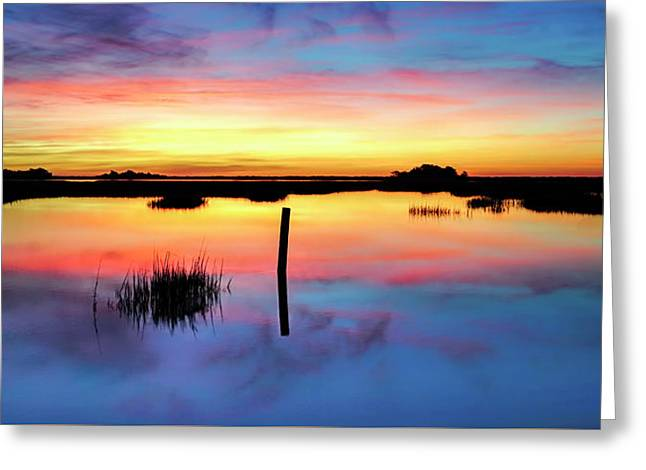 Sunrise Sunset Image Art - Be Here Now Greeting Card