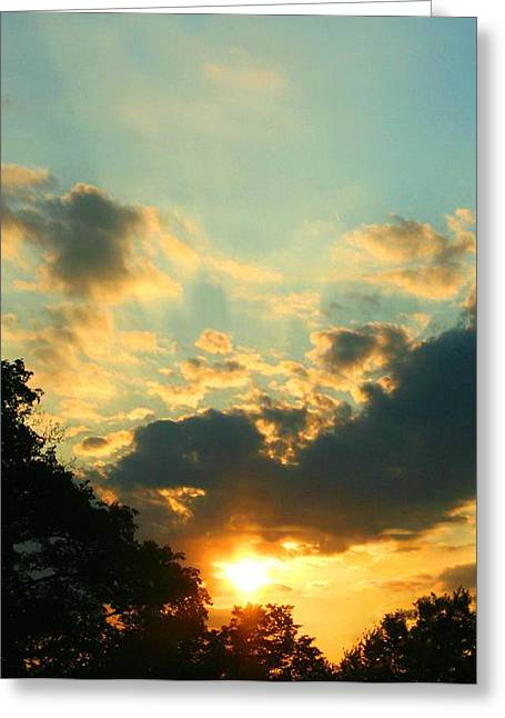 Sunrise Sunset Greeting Card