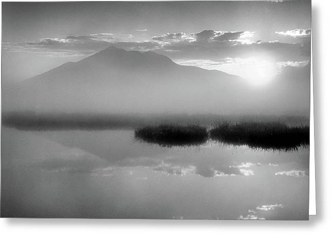 Greeting Card featuring the photograph Sunrise by Tatsuya Atarashi
