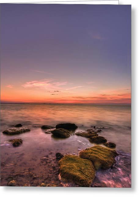 Sunrise Wisp Greeting Card