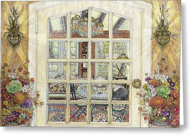 Sunroom Entrance Greeting Card