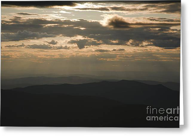 Sunset - White Mountains New Hampshire Usa Greeting Card by Erin Paul Donovan