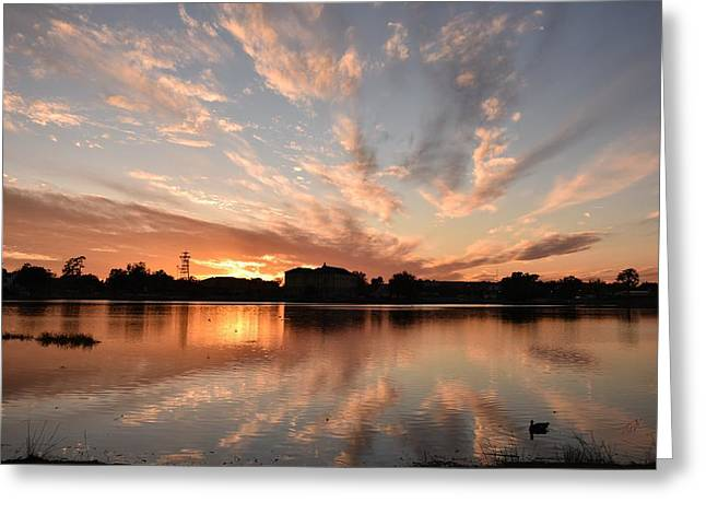 Sunset 010518 Greeting Card