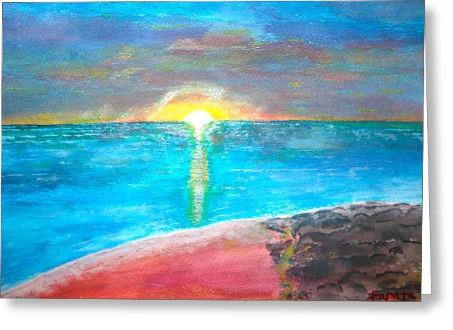 Sunset-1 Greeting Card