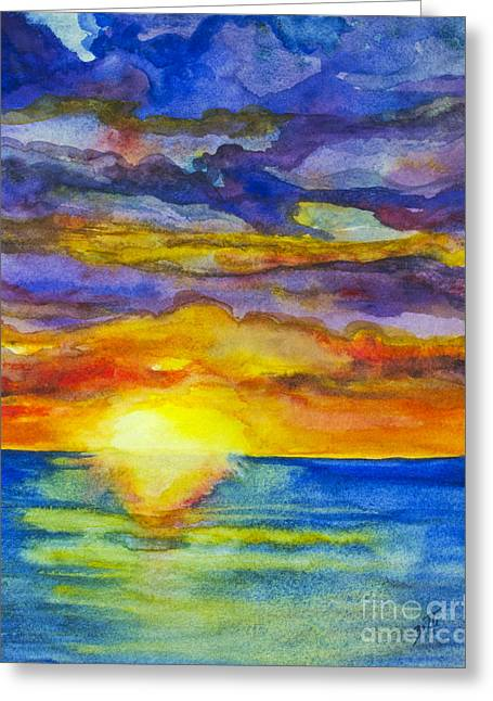 Sunset 1 Greeting Card
