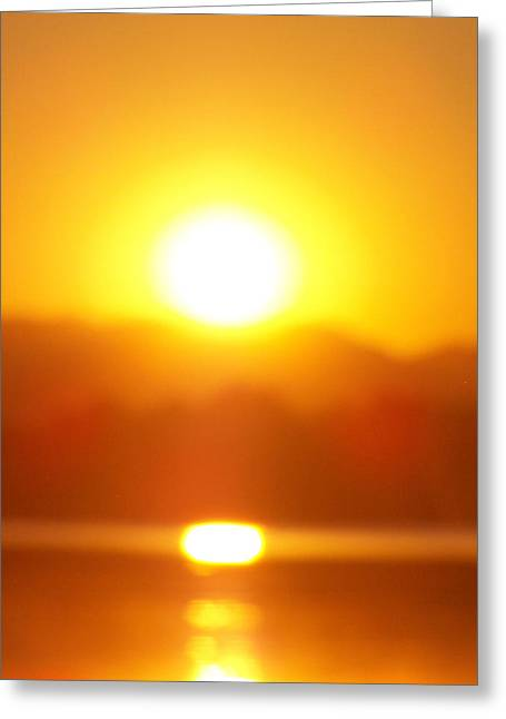 Sunset 1 Greeting Card by Travis Wilson