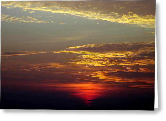 Sunset 18 Greeting Card by Don Prioleau