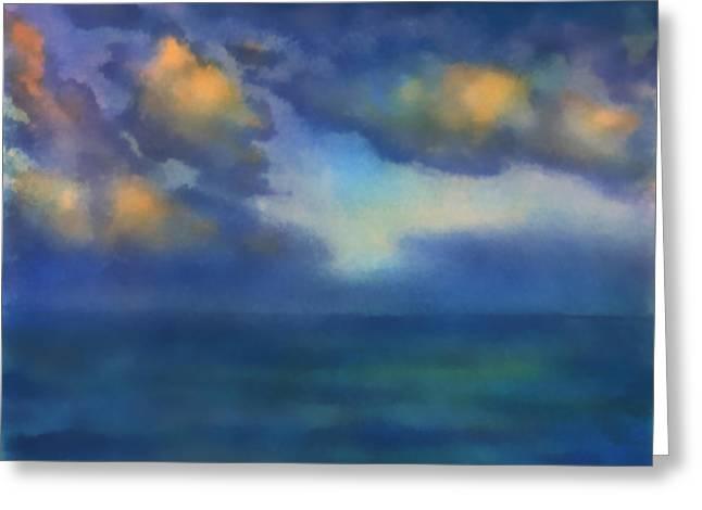 Sunset 2 Greeting Card by Valeriy Mavlo
