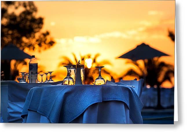 Sunset 3 Greeting Card by Ivan Vukelic