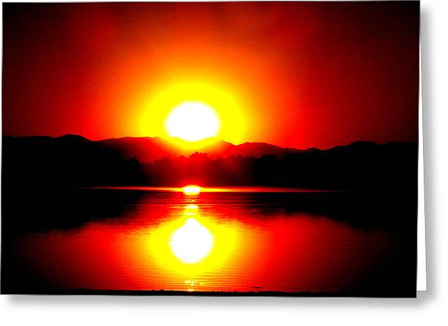 Sunset 3 Greeting Card by Travis Wilson