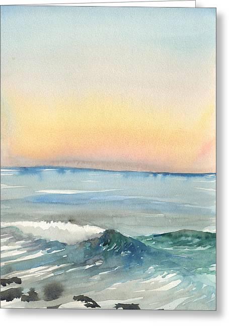 Sunset 33 - La Jolla Greeting Card