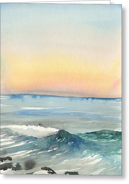 Sunset 33 - La Jolla Greeting Card