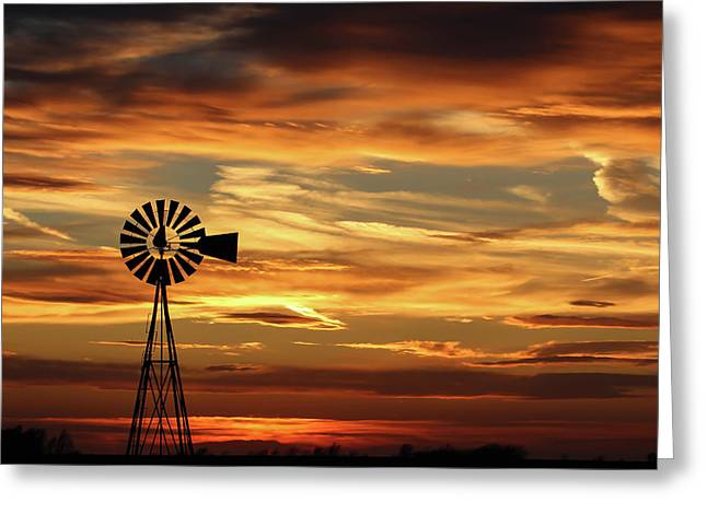 Sunset 67 Greeting Card