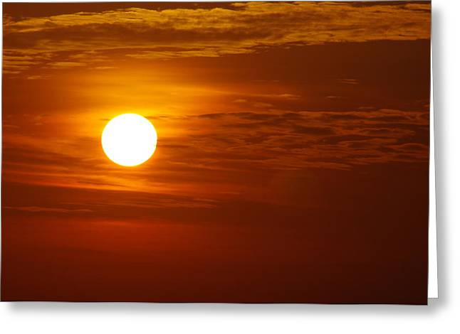Sunset 7 Greeting Card by Don Prioleau
