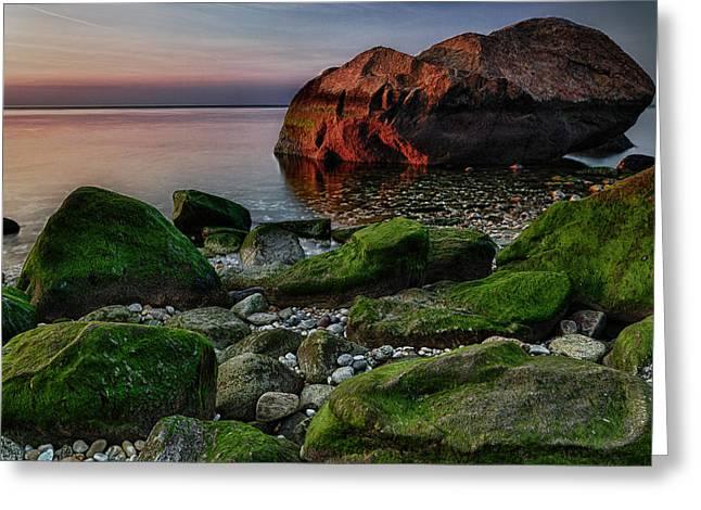 Sunset At Horton Point Greeting Card by Rick Berk