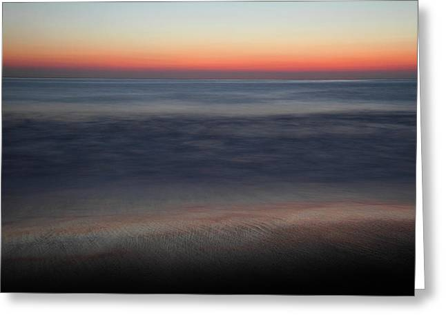 Sunset At Huntington Beach Greeting Card by Pierre Leclerc Photography