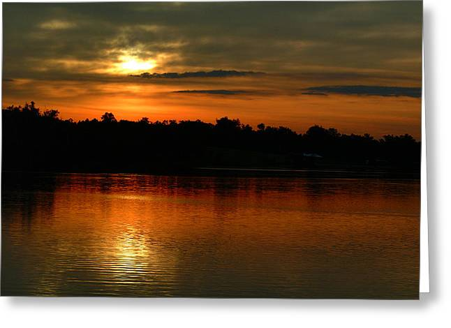 Sunset At Jacobson Greeting Card