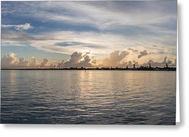Sunset At Key Largo Greeting Card